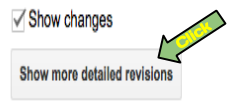 how to delete revision history on google docs
