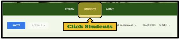 click students